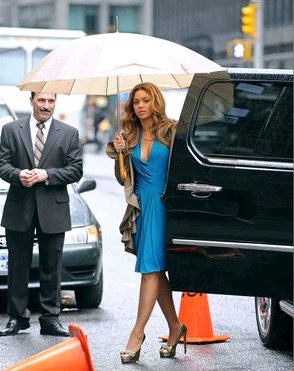 Beyonce in Ruthies Davis Odyssey...
