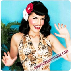 Dress Like the Pin Up Girls! Retro Clothing, Pinup Dresses, Lingerie, and Costumes for Modern Day Bombshells