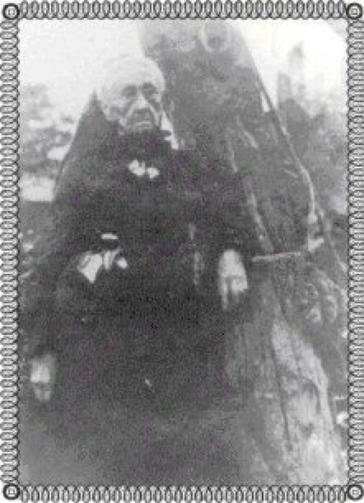 Mary Ann (Jacks) White, 10 Feb 1822 - 16 Mar 1920