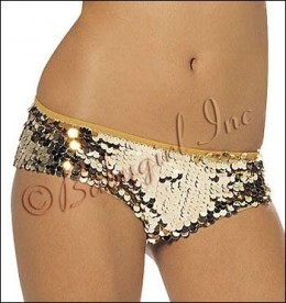 Gold sequin booty shorts by Shirley of Hollywood at http://www.babygirlboutique.com/shirley-of-hollywood.html