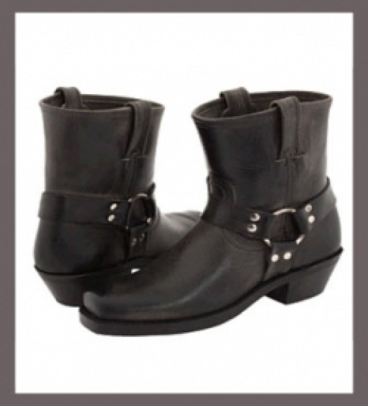 Frye Womens Motorcycle Boots - Harness 8R Boot