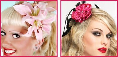 Pinup Hair Flowers