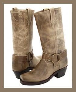 Frye Women's Harness 12R Boots - Khaki