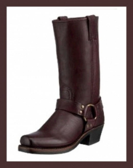 Frye Women's Harness 12R Boots - Plum
