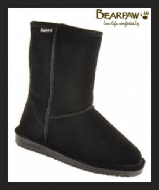 Bearpaw Emma Boots In Black