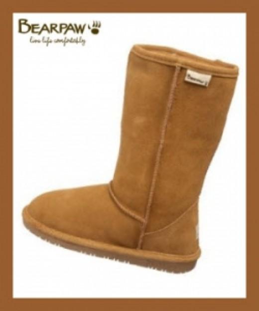 Bearpaw Emma Boots Nutmeg Color
