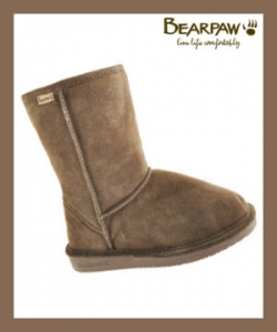 Bearpaw Emma Boots In Smoke Color