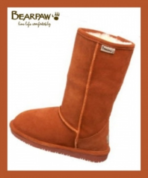 Bearpaw Emma Boots In Spice Color
