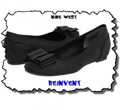 Reinvent - Black Nine West Flat Shoes