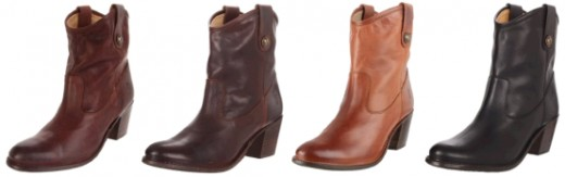 FRYE JACKIE SHORT BOOTS - COLORS