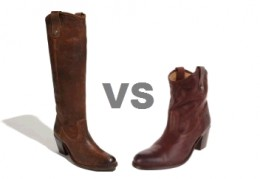 Frye Jackie Tall VS Short Boot