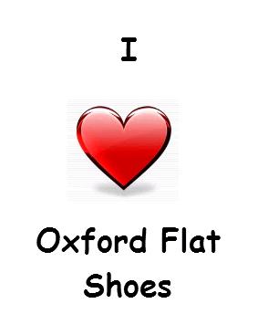 Women's Oxford Flat Shoes