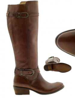 FRYE-CARSON-BUCKLE-TALL-BOOT