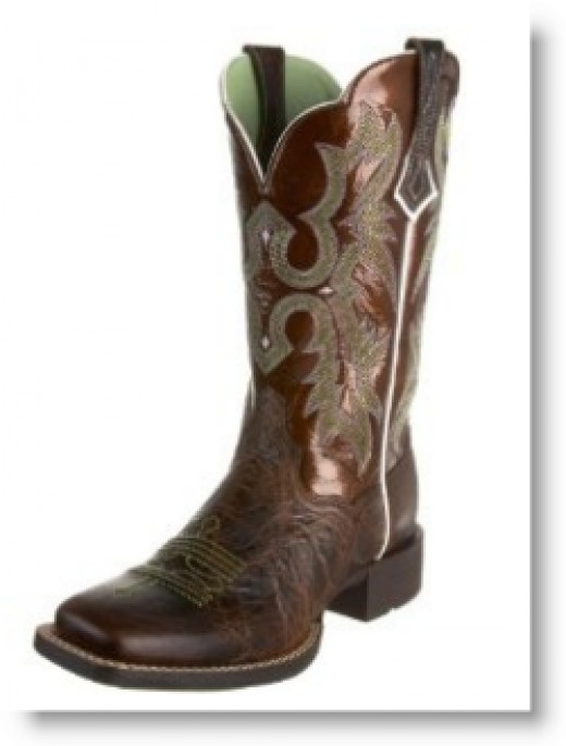 Ariat Women's Tombstone Boot in Chocolate Chip