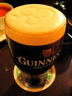 Guiness waiting for the Fly