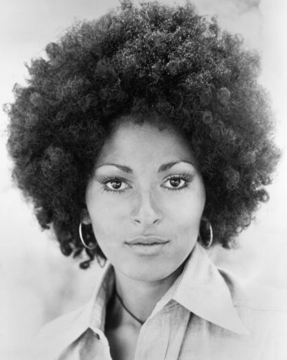 Pam Grier in Gorgeous Afro.