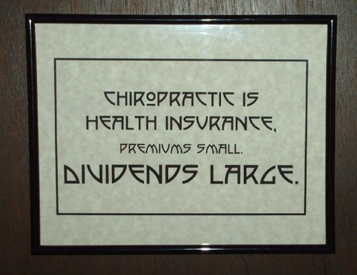 One of our prints from our Chiropractic Epigram/Quote Print Set.
