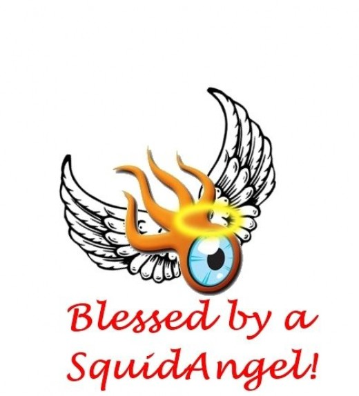 Blessed by a SquidAngel!