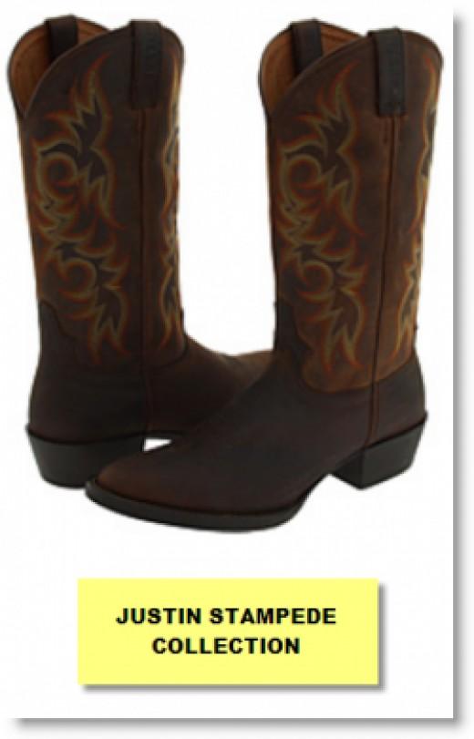 Justin Stampede Boots