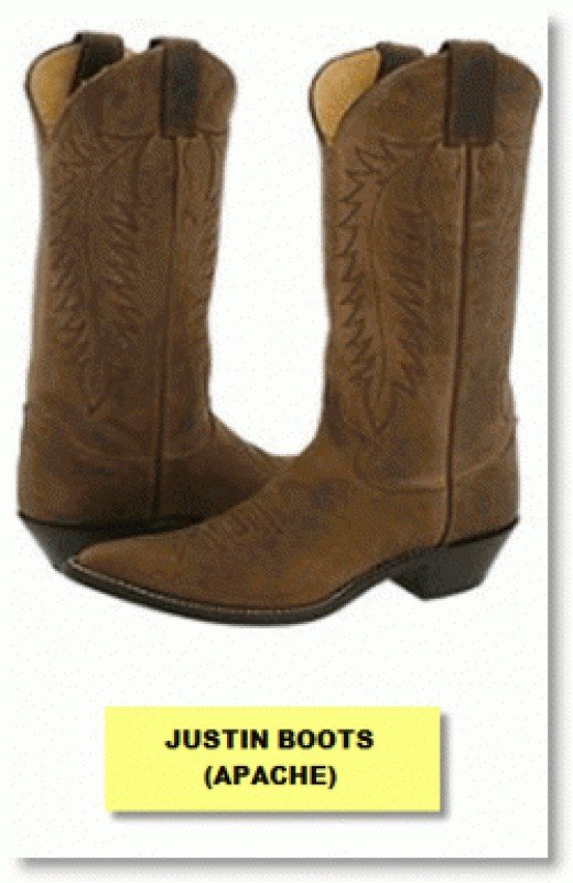 JUSTIN BOOTS APACHE