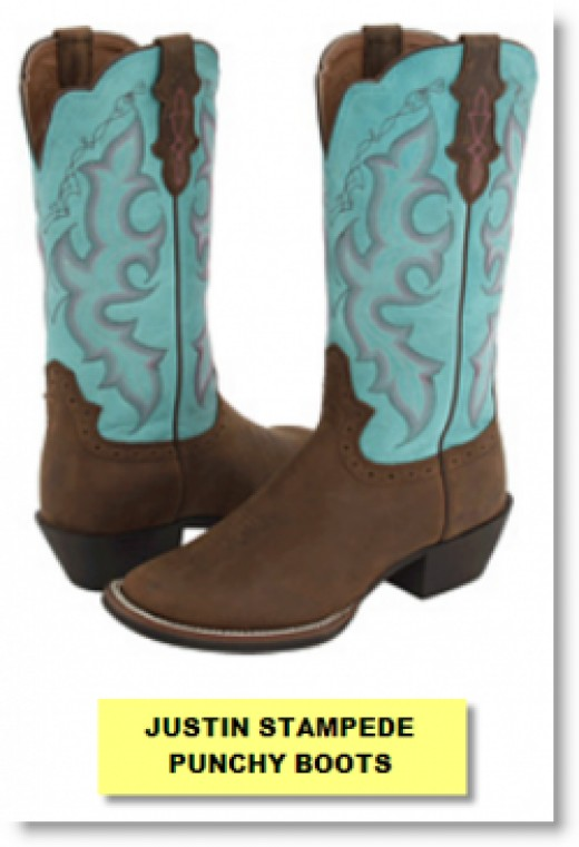 Justin Stampede Boots For Women