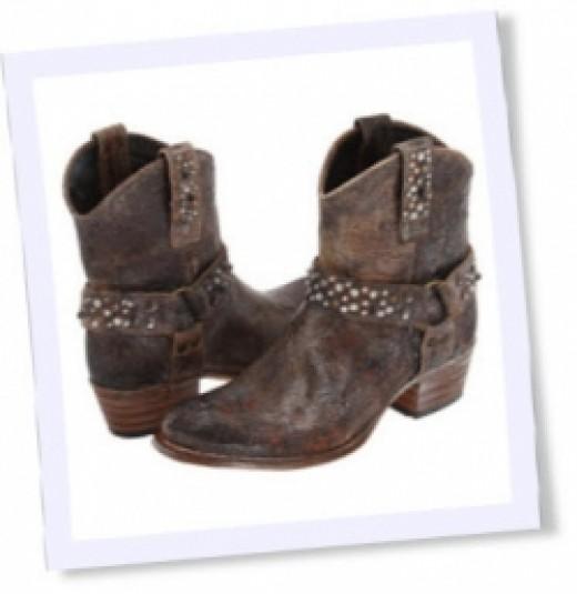 Women's Frye Deborah Stud Harness Boots