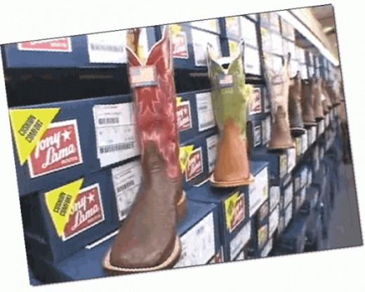 Shop in Here -Tony Lama Shop