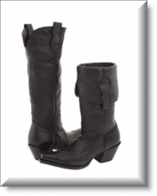 Women's Tony Lama Black Vail Boot