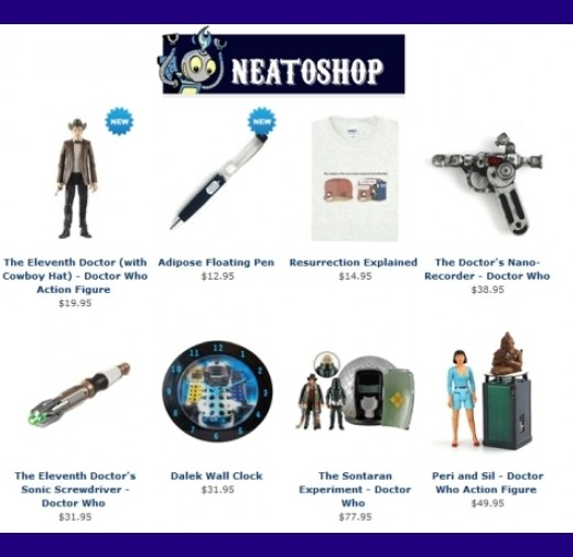Searching for unique Doctor Who gifts? Start your search at Neatoshop!