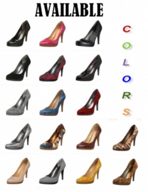 Nine West Rocha Pump Women's Shoes - Colors