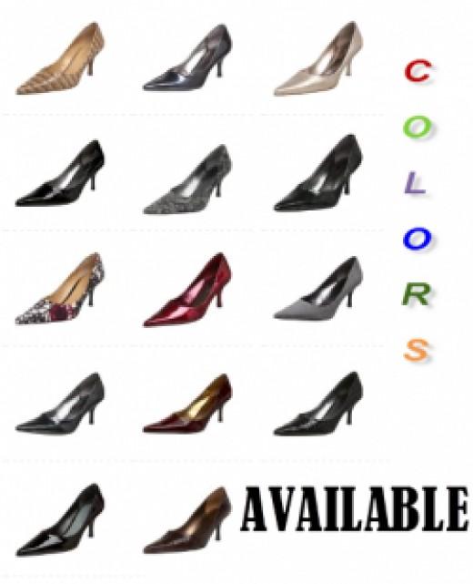 Nine West Nuncio Pump Women's Shoes - Colors