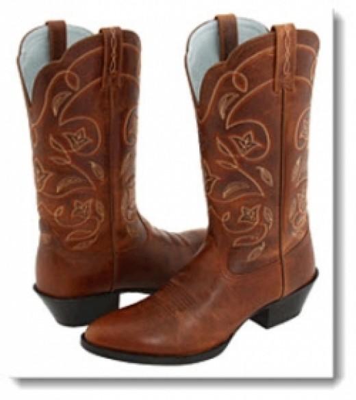 Ariat Western Heritage Russet Rebel Boots