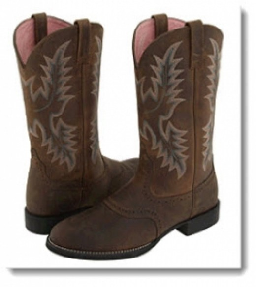 Ariat Heritage Stockman Boots Womens