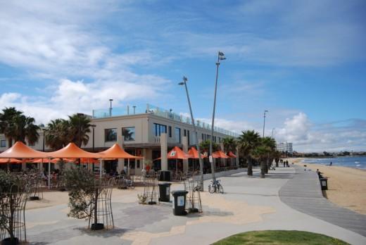 The St Kilda boardwalk