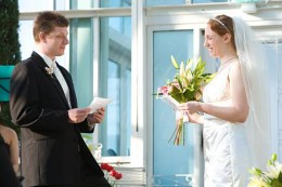 a wedding day memory.