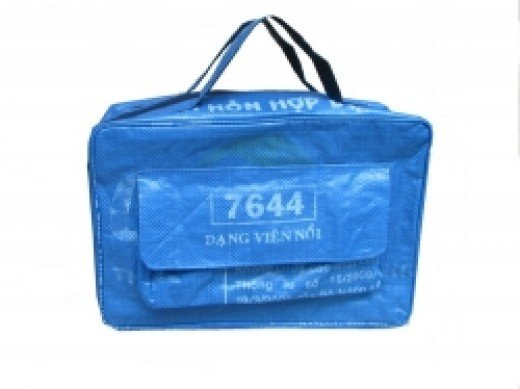 Recycled Fish Food Bag Lap Top Bags