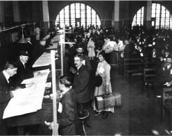 Bob Hope, Frank Capra, Bela Lugosi, Baron Von Trapp, Irving Berlin, Max Factor, Xavier Cugat, Rudolph Valentino, and Igor Sikorsky all entered the USA through Ellis Island.
