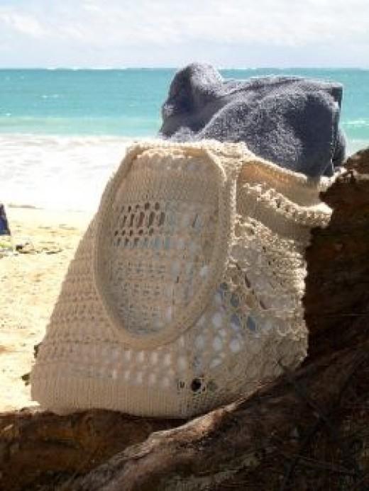 Not a Sandy Bottom Bag