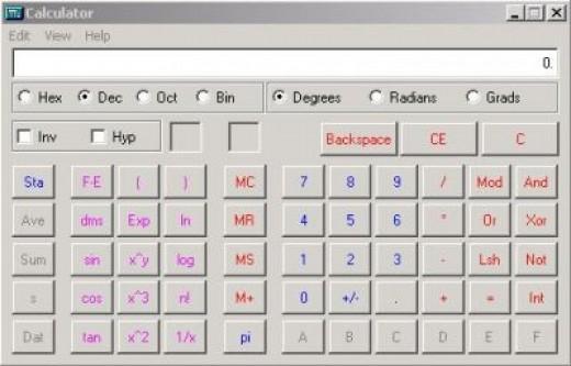 Scientific Calculator Mode