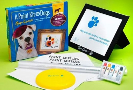pup casso paint kit for dogs