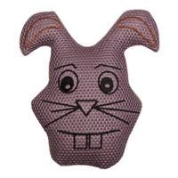 This silly rabbit is a Vibram K9 favorite, made from strong nylon materials for a long-lasting soft chew toy. A hidden squeaker mades this an extra-fun dog toy! Retail price: $12.95.