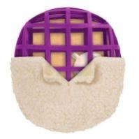 Premier Pet's Pogo Plush is a real winner because it's stuffing free! It has a rubber scaffolding inside which provides that bounce-back action that they love. Kind of similar to how a tennis ball springs back when they chew on it - dogs love that fe