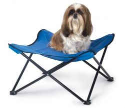cool breeze raised dog bed