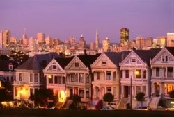 Alamo Square, San Francisco, CA