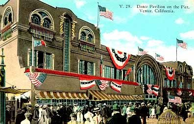 The Venice Dance Hall on the pier, 1921