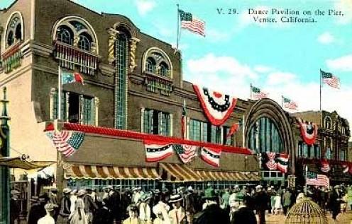 The Venice Dance Hall on the pier, 1921