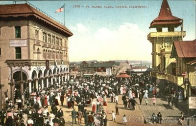 Saint Mark's Plaza, Venice, California
