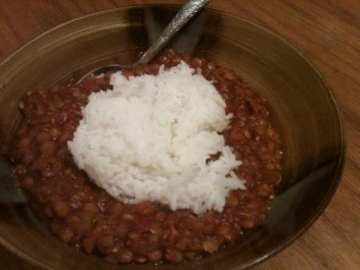 Hearty Vegetarian Lentil Stew!