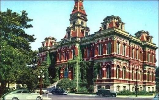San Jose City Hall, before demolition, 1955