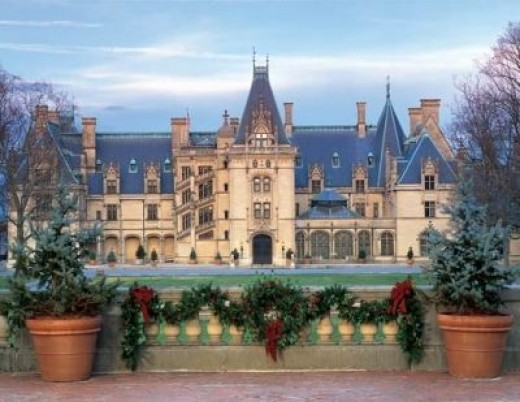 The Biltmore House in December!